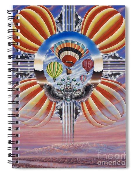 Fiesta De Colores Spiral Notebook