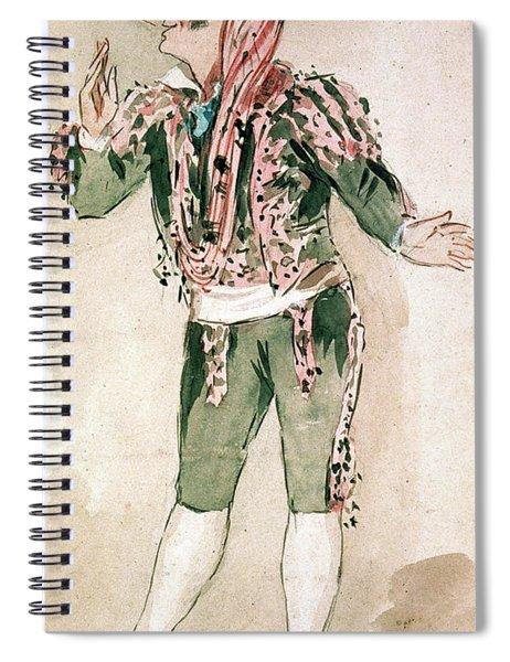 Figaro/barber Of Seville Spiral Notebook