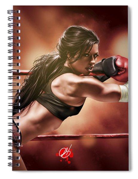 Fight Night Spiral Notebook