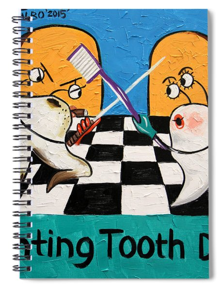 Fighting Tooth Decay Spiral Notebook