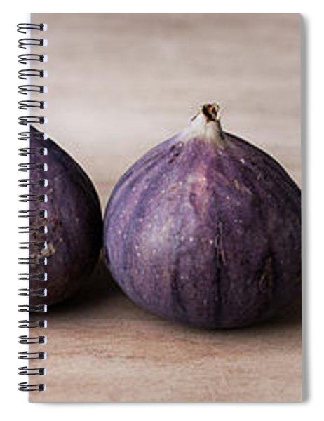 Figs Spiral Notebook by Nailia Schwarz
