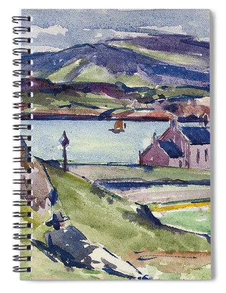 Figure And Kirk   Iona Spiral Notebook