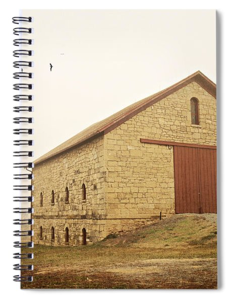 Filley Stone Barn 1 Spiral Notebook