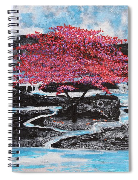 Finding Beauty In Solitude Spiral Notebook