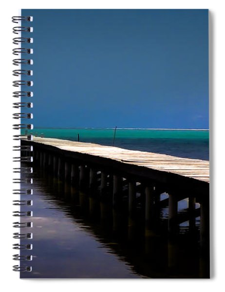 Finding Sanctuary Spiral Notebook