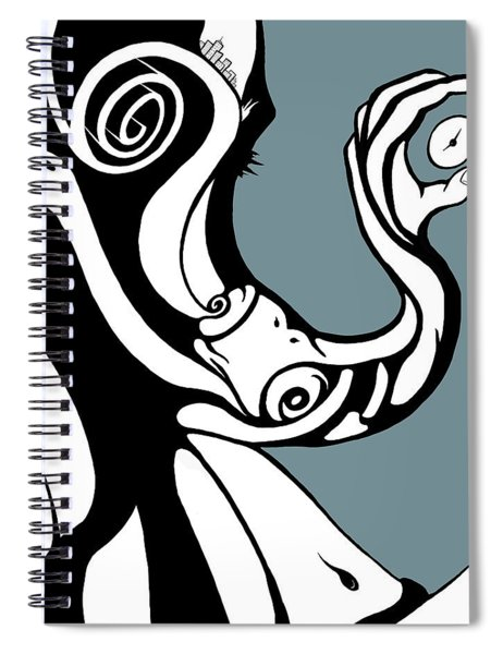 Finding Time Spiral Notebook