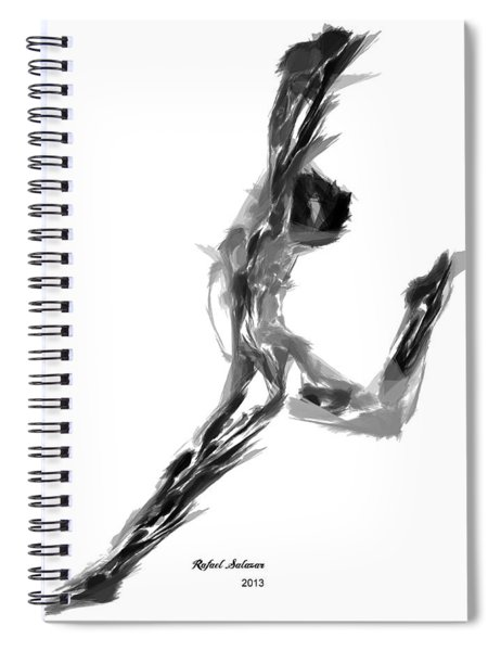 Finish Line Spiral Notebook