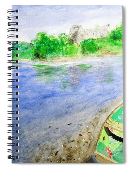 Dunstaffnage Spiral Notebook