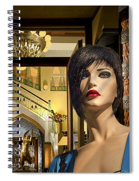 Fiona Arrives In Prague Spiral Notebook