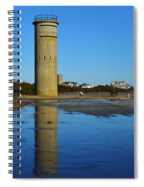 Fire Control Tower 3 Icy Reflection Spiral Notebook