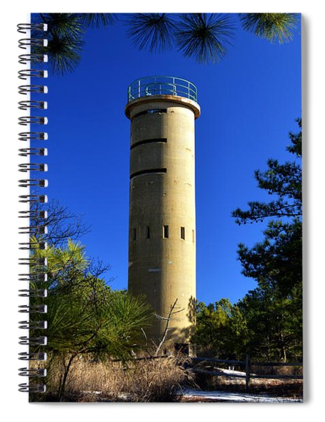 Fct7 Fire Control Tower #7 - Observation Tower Spiral Notebook