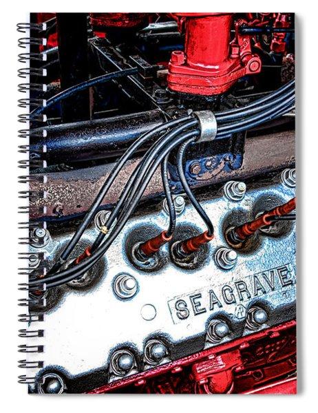Fire Engine Engine Spiral Notebook