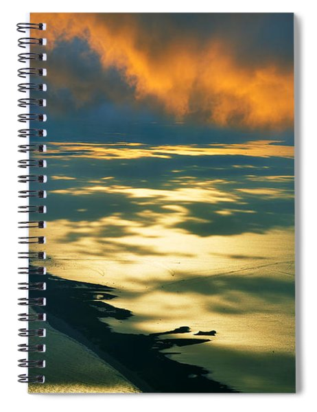 Fire Island Spiral Notebook