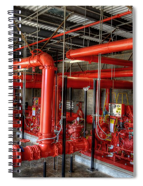 Fire Pump Spiral Notebook