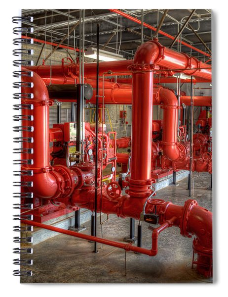 Fire Pump Room 2 Spiral Notebook