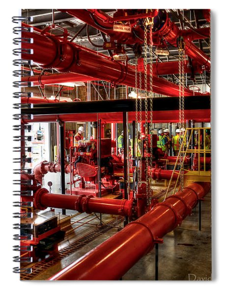 Fire Pumps Spiral Notebook