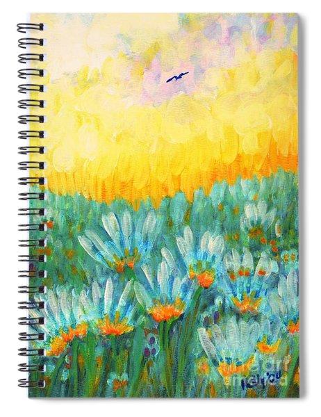 Firelight Spiral Notebook