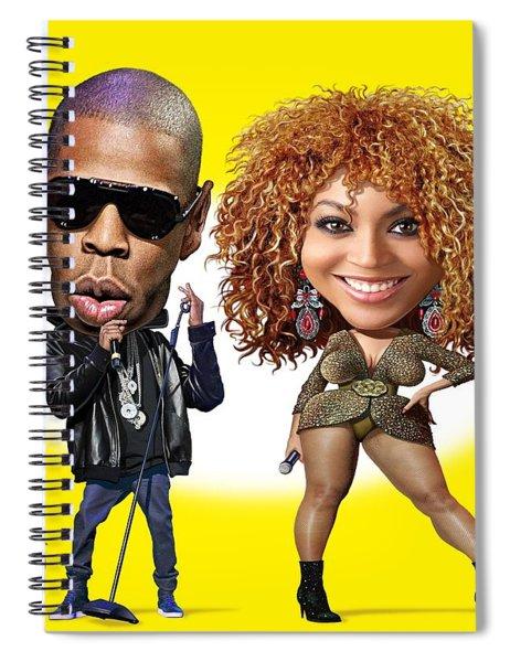First Couple Spiral Notebook