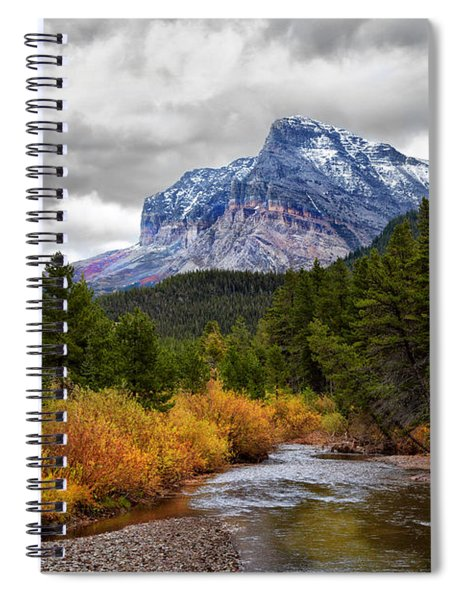 First Dusting Of Snow Spiral Notebook