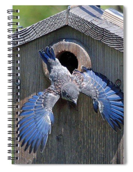 First Flight Spiral Notebook