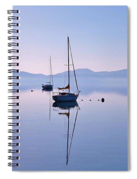 First Light Lake Tahoe  Spiral Notebook