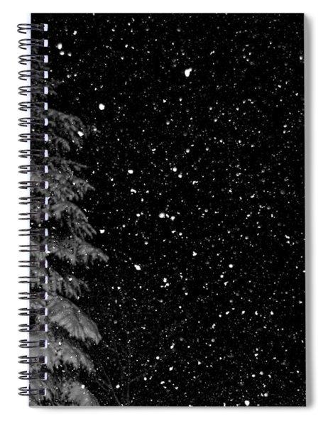 First Snow Spiral Notebook