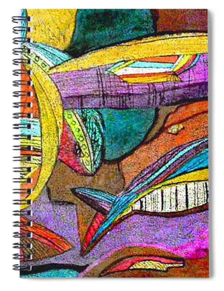 Fish And Chips Spiral Notebook