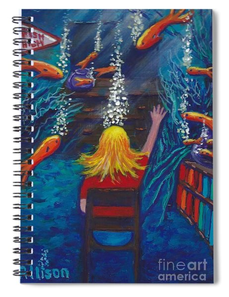Fish Dreams Spiral Notebook