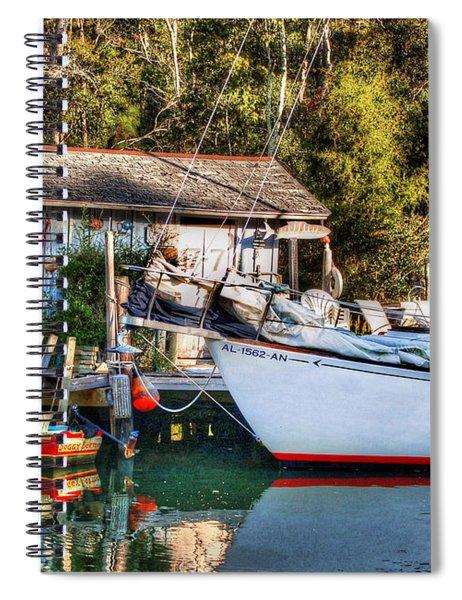 Fish Shack And Invictus Original Spiral Notebook