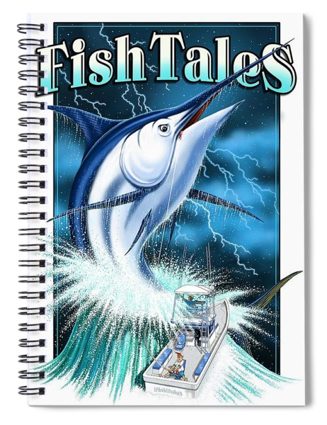 Fish Tales Spiral Notebook