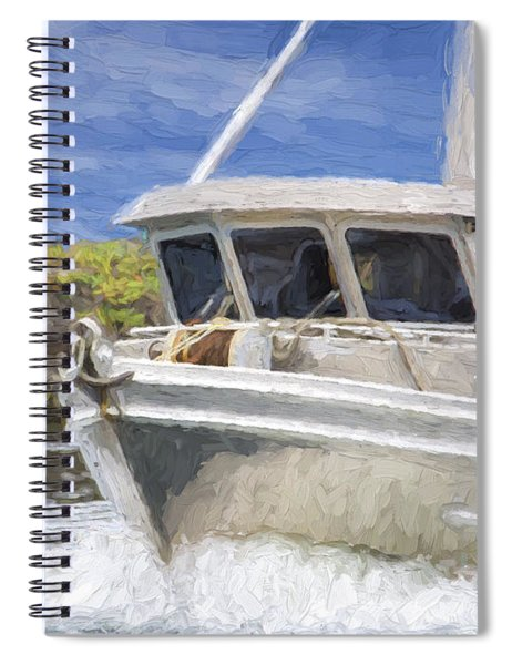 Fisherman's Prayer - West Coast Art Spiral Notebook