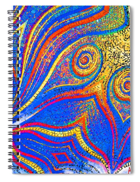 Fishing For Colours Spiral Notebook
