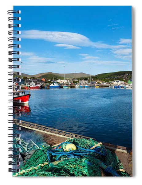 Fishing Harbor, Dingle Harbour, Dingle Spiral Notebook