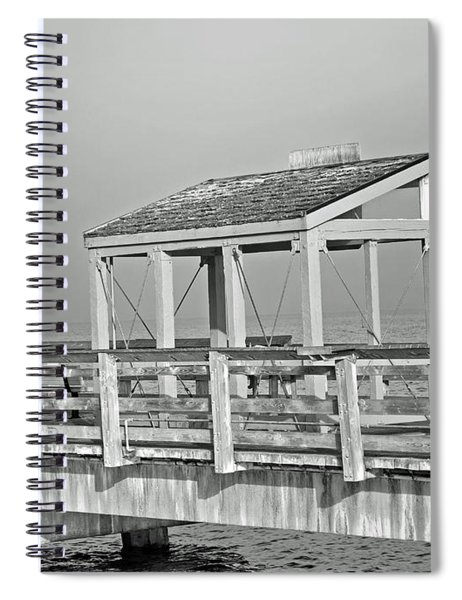 Fishing Pier Spiral Notebook