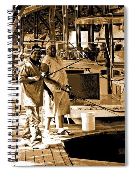 Fish'n Buds Spiral Notebook