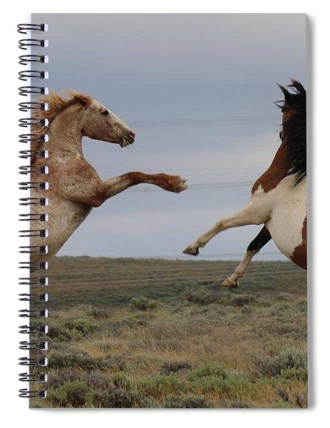 Fist Fight  Spiral Notebook