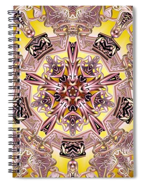 Five Stage Light Spiral Notebook