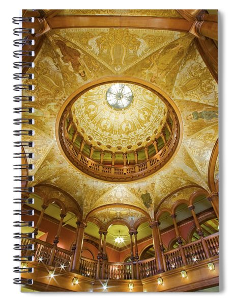 Flagler College Rotunda St Augustine Spiral Notebook