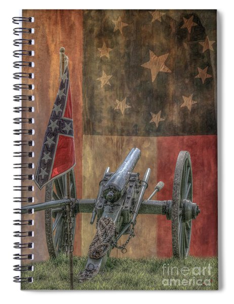 Flags Of The Confederacy Spiral Notebook