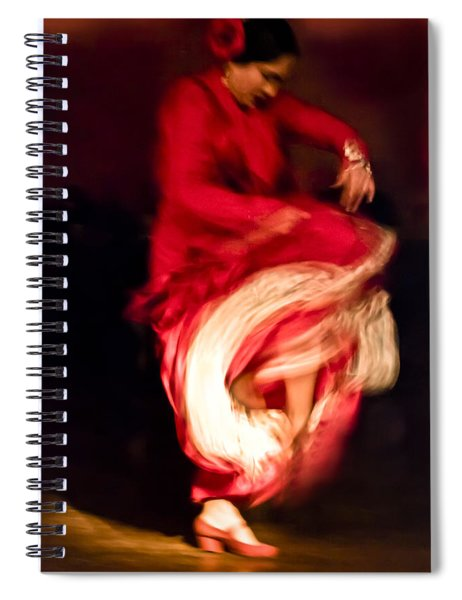 Flamenco Series 1 Spiral Notebook