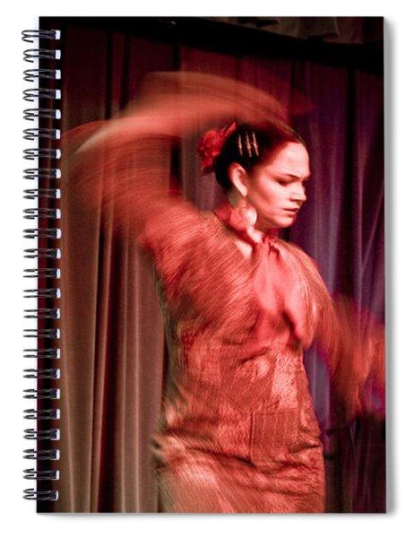 Flamenco Series 13 Spiral Notebook