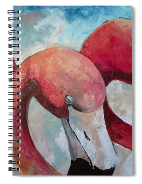 Flaming Joes Spiral Notebook