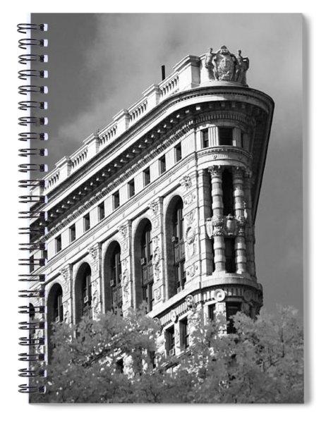 New York City - Flat Iron Prow Spiral Notebook