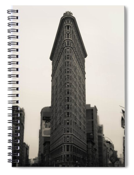 Flatiron Building - Nyc Spiral Notebook