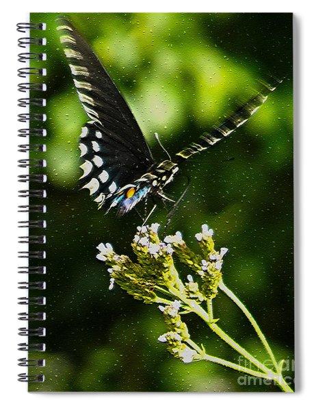 Flattering Flutter Spiral Notebook