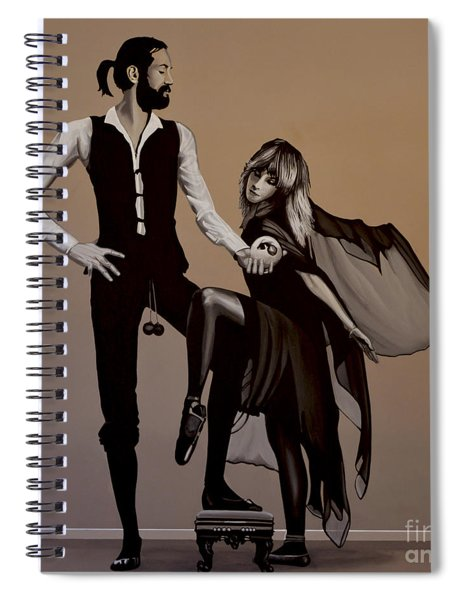 Fleetwood Mac Rumours Spiral Notebook