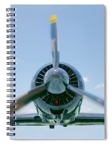 Flight In Color Spiral Notebook