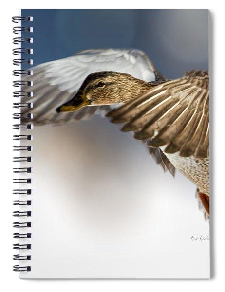 Flight Of The Mallard Spiral Notebook