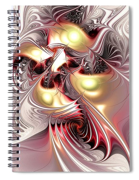 Flight Of The Phoenix Spiral Notebook