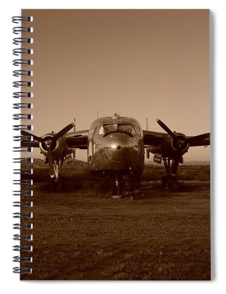 Flight Of The Phoenix Spiral Notebook